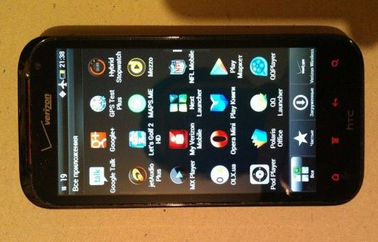 HTC Rezound с системой Beats Audio