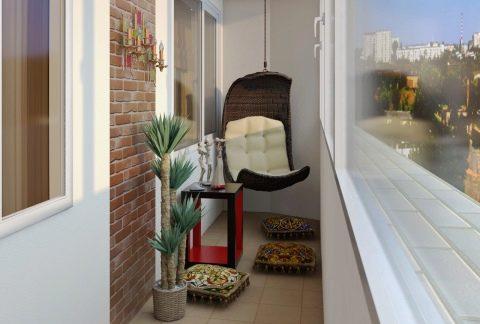 Оформление балкона: интересные варианты